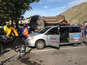 Journey of Hope riders in Jackson Hole