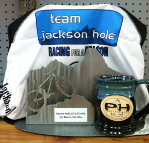 Team JH Rider Mike Piker Places First at Pierre's Hole